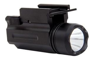 Lanterna Tática Hy 1w-1trilho 20mm 130 Lumens 7,5cm Metal