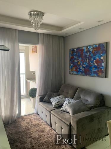 Imagem 1 de 14 de Apartamento 2 Dorms, 1 Suíte E Lazer Completo - R$ 535.000