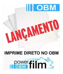 Obm Power Film A4 Transfer Tecido Escuro Pct10 Folhas