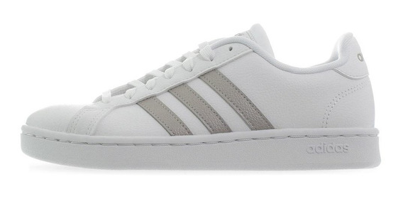 Tenis adidas Grand Court - F36485 - Blanco - Mujer