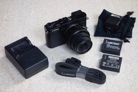 Câmera Panasonic M43 Lumix Dmc-gm5 Melhor Que Rx100, G7x