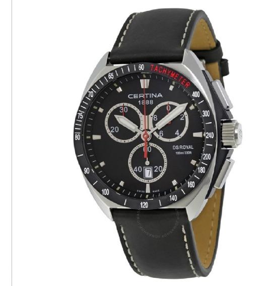 Reloj Certina Ds Royal Safiro Cronógrafo A Pedido Nuevo