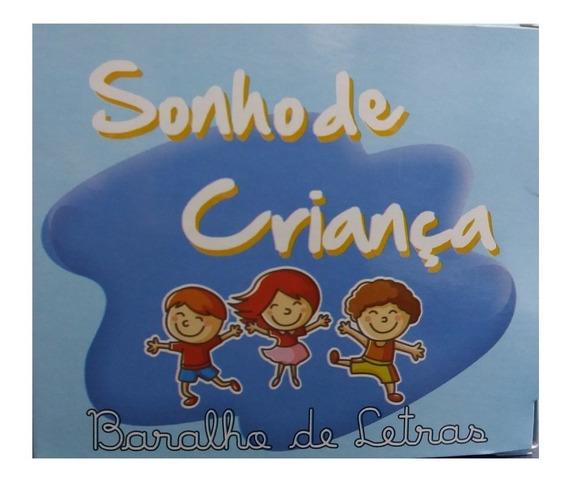Brinquedo Pedagógico Jogo Baralho De Letras 145und