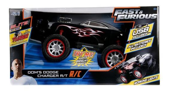 Vehículo Rápido Y Furioso Dodge Charger Escala 1:12