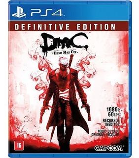 Devil May Cry Definitive Edition Ps4, Disco, Nuevo Y Sellado