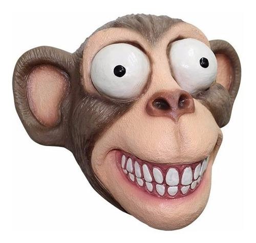 Máscara De Látex Chimp Chango Mono Chimpance Animales