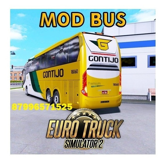 Euro Truck Simulator 2 Mod Bus 2020 Megapack