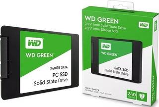 Ssd Disco Solido Wester Digital 240gb Green ¡oferta!