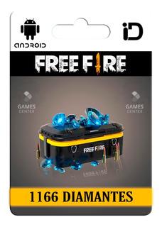 1060 Diamantes Free Fire + 106 Bonus | Entrega En El Día |