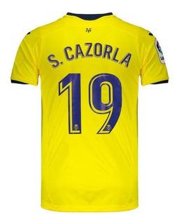 Camisa Joma Villarreal Home 2019 19 S. Cazorla