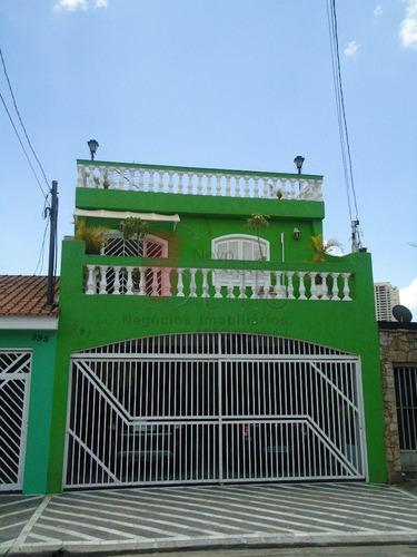 Imagem 1 de 10 de Sobrado - Vila Prudente - Ref: 677 - V-677