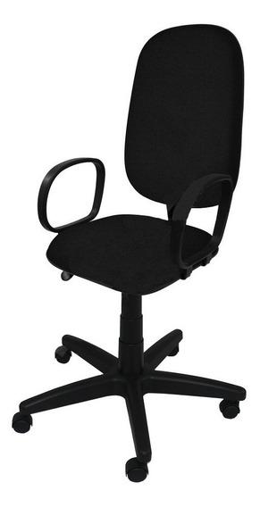 Cadeira Presidente Giratória Injetada C/ Braço Corsa