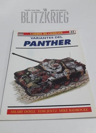Livro Variantes Del Panther Ww2 Segunda Guerra Ww2 Tanque
