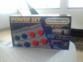 Caixa Do Nintendo 8bit + Tapete Power Pad | Isopor | Manuais
