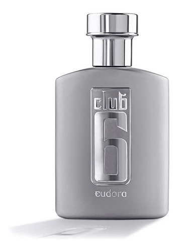 Deo Colônia Club 6 - 95 Ml Perfume Masculino Eudora