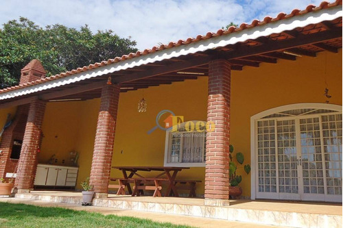 Chácara Com 3 Dormitórios À Venda, 1000 M² Por R$ 850.000,00 - Condomínio Parque São Gabriel - Itatiba/sp - Ch0120