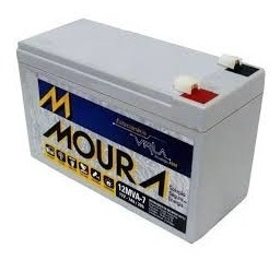 Bateria Selada 12v/7a Moura 12mva-7 P/ Nobreak