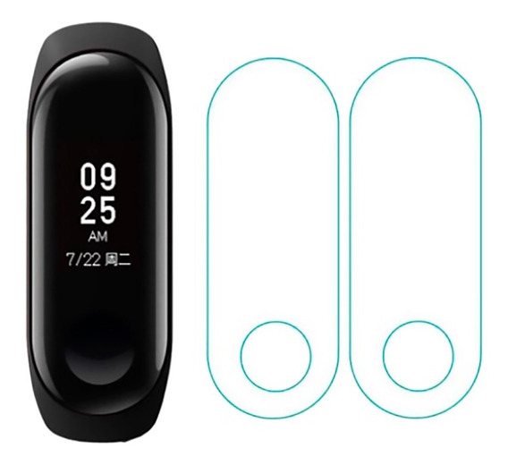 Kit 2 Pelicula Protetora Mi Band 2 Xiaomi Pronta Entrega