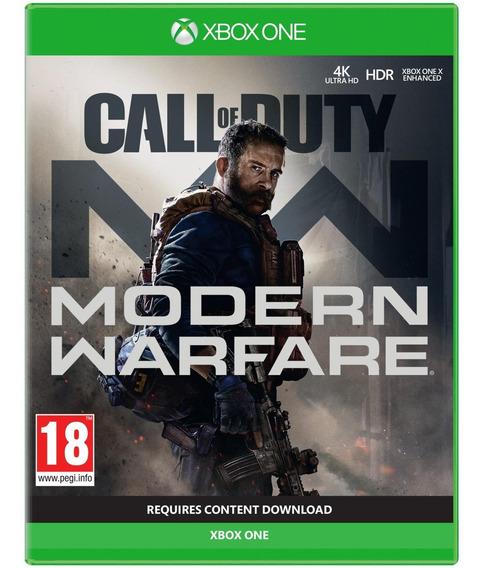 Jogo Midia Fisica Call Of Duty Modern Warfare Para Xbox One
