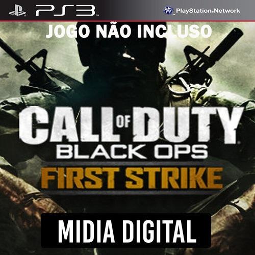 Dlc* First Strike Call Of Duty Black Ops Cod Bo - Ps3 Psn*