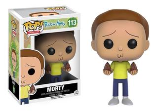 Funko Pop Morty 113 Rick And Morty Original Coleccionable