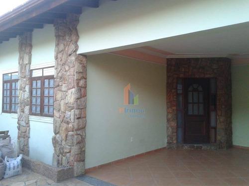 Imagem 1 de 13 de Casa Com 4 Dormitórios À Venda, 220 M² Por R$ 689.000,00 - Parque Taquaral - Campinas/sp - Ca0406