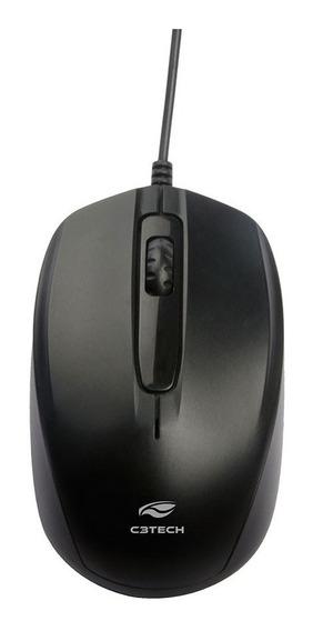 10 Mouse Óptico Usb C3-tech Ms-30bk Preto 1000 Dpi