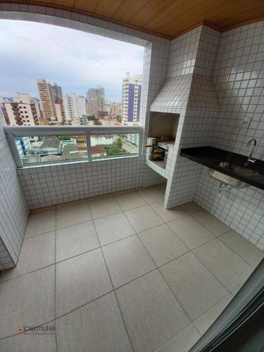 Imagem 1 de 20 de Apartamento Com 2 Dormitórios À Venda, 70 M² - Aviação - Praia Grande/sp - Ap2211