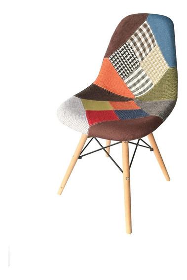Paq 2 Sillas R. Eames Para Salas Modernas Y Comedores T811-3