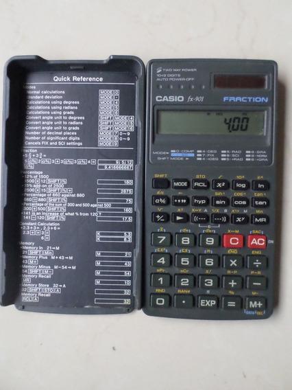 Calculadora Cientifica Casio Fx 901