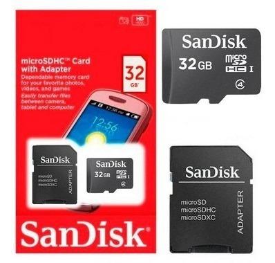 Cartão De Memória Sandisk 32gb - Novo - Original