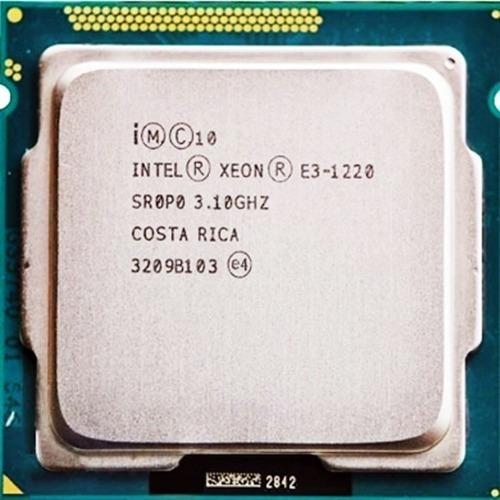 Intel Xeon E3 1220 V1 1155 4/4 - 3,4ghz Com Garantia
