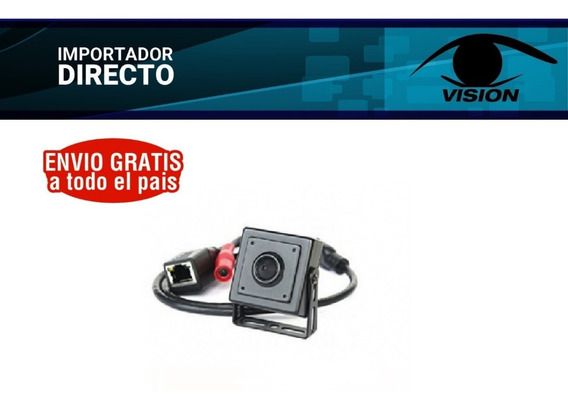 Mini Cámara Ip Oculta Pinhole Espia 960p 1.3mp 3.7mm