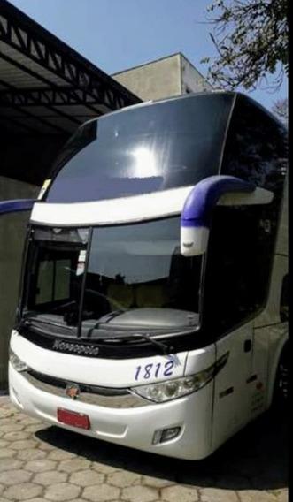 Onibus Paradiso 1800 Dd New G7 420 R 6x2 Ano 2012