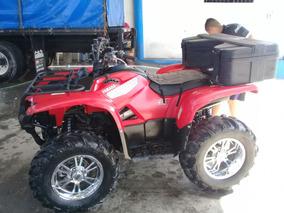 Yamaha Grizzly 700. Rojo. Neg