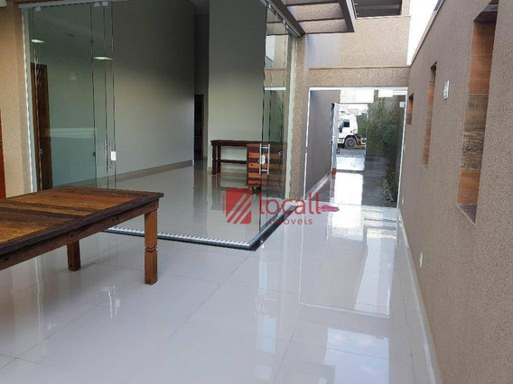 Casa Residencial À Venda, Residencial Gaivota Ii, São José Do Rio Preto. - Ca1219
