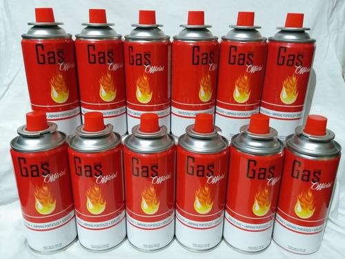 Tanque Gas Butano Ideal Para Estufas Soplete X12