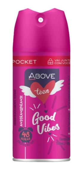 Deo Ant.above Pocket Teen Good Vibes 100ml/50g Baston