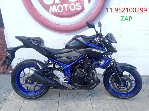 Yamaha Mt 03 2019 Azul