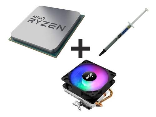 Imagem 1 de 9 de Processador Amd Ryzen 3600 4.2ghz Turbo + Cooler Aigo 180w