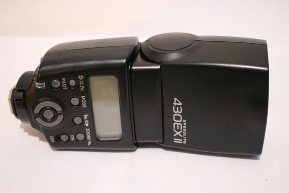 Flash Canon 430 Ex Ii Speedlite E-ttl Desconto À Vista