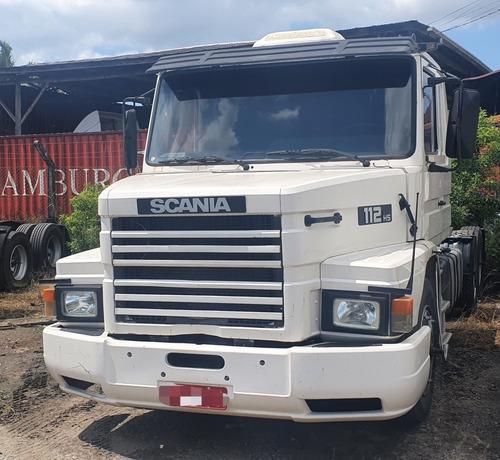 Scania  T 112 Hs 6x2 Branco