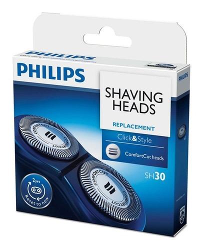 Imagen 1 de 8 de Cuchillas Cabezal Philips Sh30 H - Unidad a $169900
