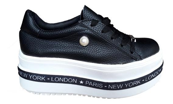 Zapatos Plataforma Altas Zapatillas New York Moda 2019