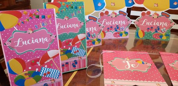 Kit Imprimible Cumple En La Piscina Pool Party