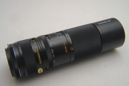 Até Dia 20 Tamron Sp 300mm F5.6 Macro Canon M42 (600mm)