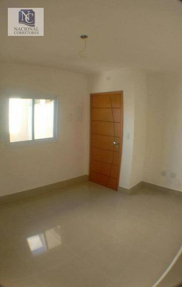 Apartamento Com 2 Dormitórios À Venda, 50 M² Por R$ 235.000,00 - Vila Camilópolis - Santo André/sp - Ap3314