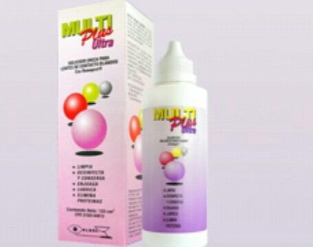 Multi Plus Ultra Liquido Para Lentes De Contacto.360 Ml.