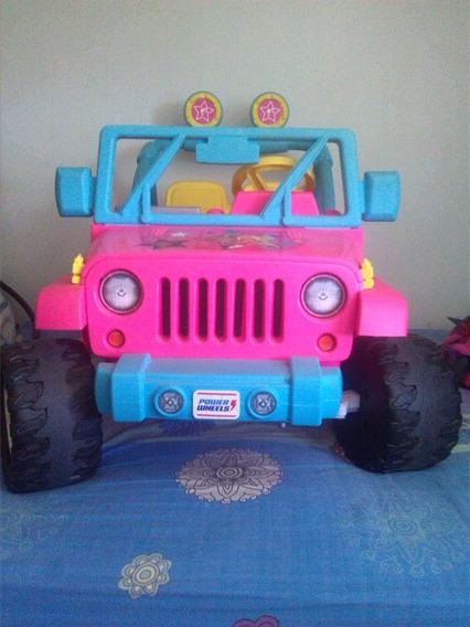 Carro Jeep Barbie Para Niñas