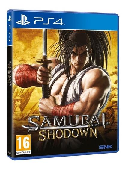 Jogo Novo Midia Fisica Samurai Shodown Original Para Ps4
